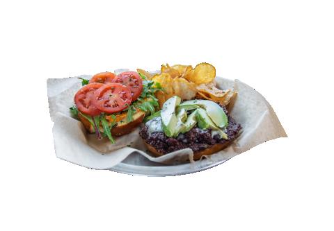 QUINOA BLACK BEAN Burger 794